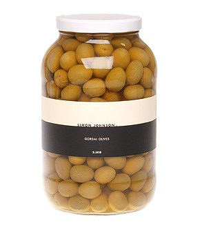 Gordal Olives Glass Jar 4kg-304