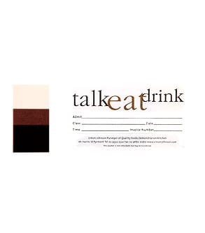 Talk + Eat + Drink Ticket-1244